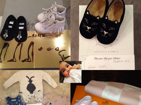 Pics! Kim K Shows Off North West's Designer Christmas Gifts