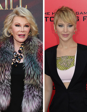 Joan Rivers to Jennifer Lawrence: 'Grow Up'