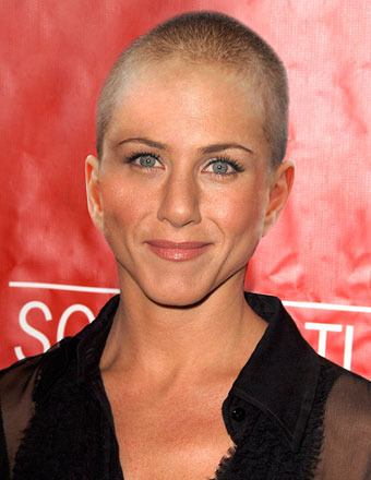 Why Is Jennifer Aniston Bald? We've Got the Scoop