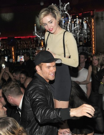 Pics! Miley Cyrus and Kellan Lutz Dating Rumors Heat Up