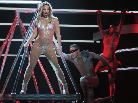Miley Cyrus, Katy Perry and Others Help Britney Spears Kick Off Her Las Vegas Show