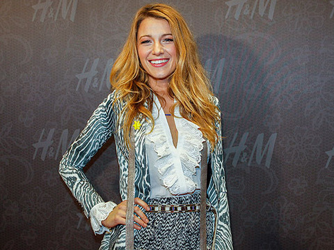 Blake Lively Shares Her Fashion Sense!