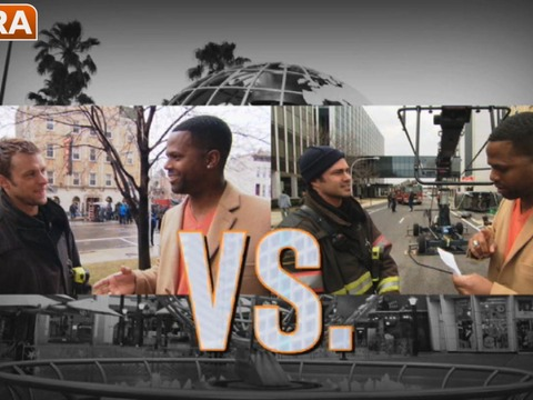 'Chicago Fire': Taylor Kinney and Jesse Spencer Take 'Extra's' Rapid-Fire Quiz