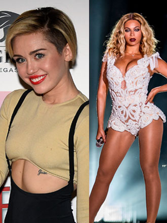Miley Cyrus Responds to Rumored Feud with Beyoncé