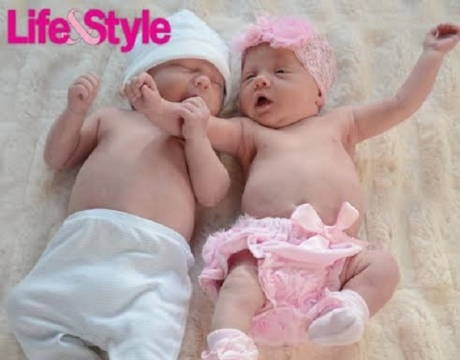 Cute Pics! Kim Zolciak Shows Off Adorable Twins
