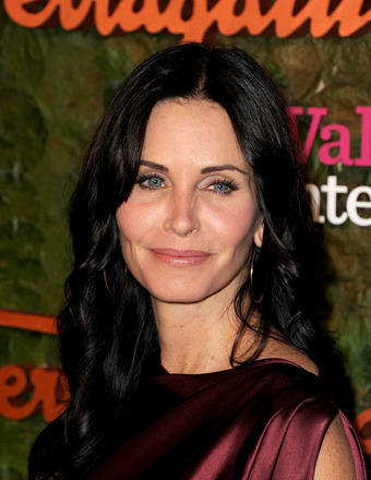 Courteney Cox's Bikini Body Secret: 'I Suck My Stomach In'