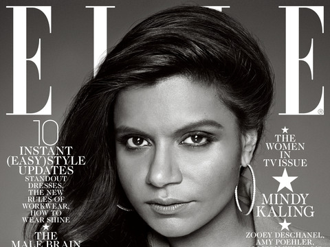 Extra Scoop: Mindy Kaling Responds to Controversy Over Her Elle Cover