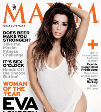 Eva Longoria Sizzles as Maxim's Woman of the Year! See the Cover