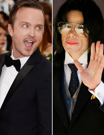'Breaking Bad's' Aaron Paul and Michael Jackson Were Drinking Buddies?