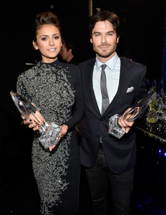 Nina Dobrev Says There's Nothing 'Awkward' with Ex-BF Ia