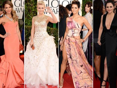 Fashion Flashback: Golden Globes 2013 Red Carpet