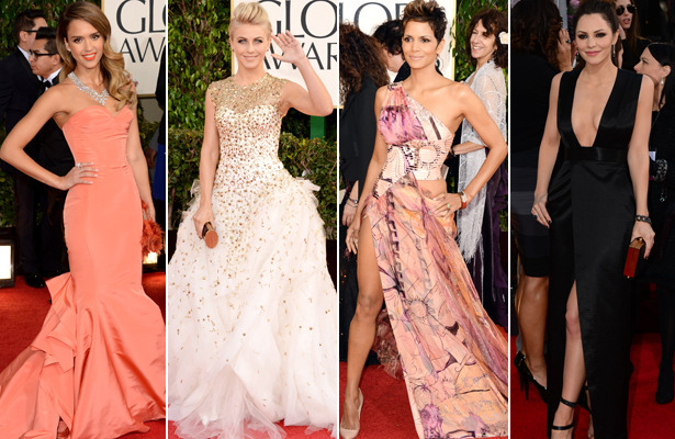 Fashion Flashback: Golden Globes 2013 Red Carpet