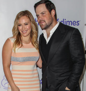 Hilary Duff and husband