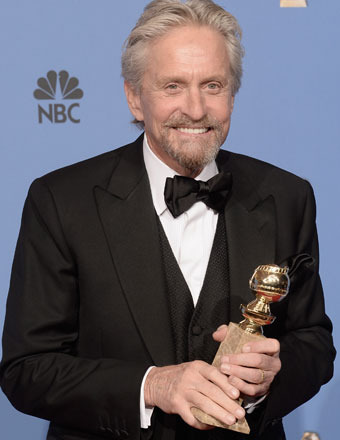 Golden Globes: Michael Douglas Talks Marriage and Catherine Zeta-Jones