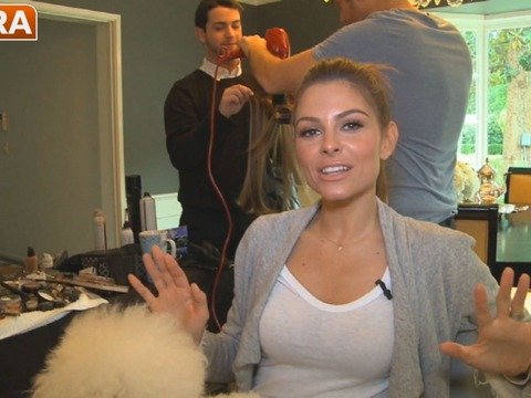 Get an Inside Peek at How Maria Menounos Prepared for the Golden Globes!