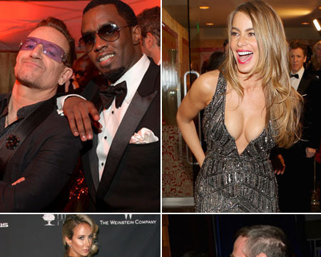 Pics! Our Favorite Moments from the Golden Globes After-Parties