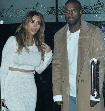 Kim K Called Kanye After Teen Allegedly Threatened to Kill Her!