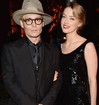Did Johnny Depp Propose? Amber Heard Spotted with a Giant Ring