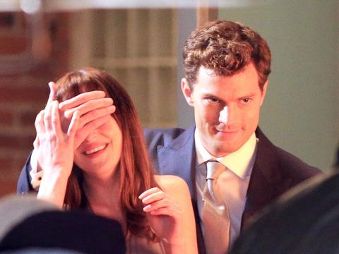 'Fifty Shades of Grey' Pics! Anastasia Gets a Car