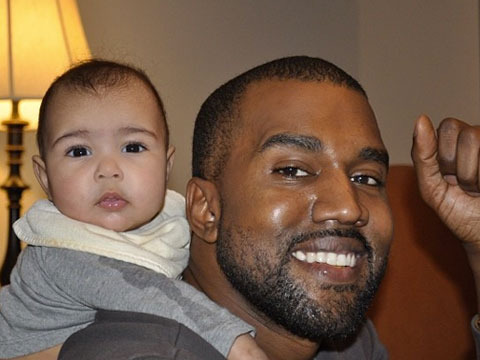 Kim K Dishes on Kanye: He Doesn't Change Diapers, Says No to Baby Bikinis