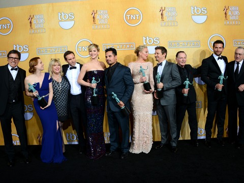 SAG Awards 2014: 'American Hustle,' 'Breaking Bad' Top Winners List