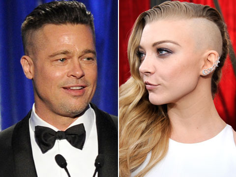 Brad Pitt and 'Game of Thrones' Star Natalie Dormer Have the Same Haircut?!