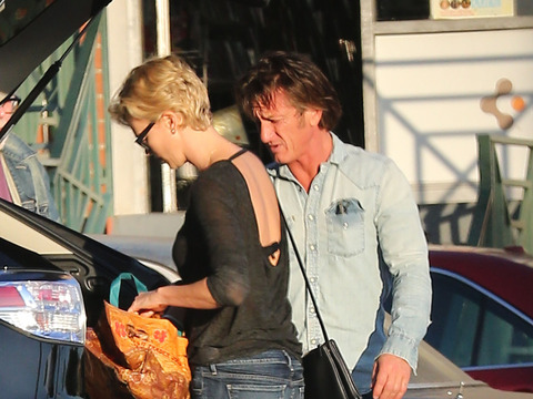 Shopping Together? Sean Penn and Charlize Theron Dating Rumors Heat Up