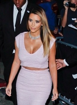 Kim Kardashian Pretty in Dior Pink, Talks Paris Wedding Plans