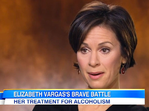 Elizabeth Vargas Discusses Alcoholism, Ready for Work After Rehab