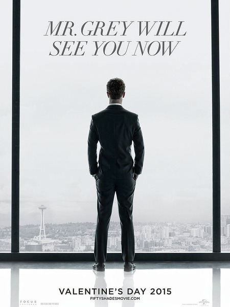 See the 'Fifty Shades of Grey' Movie Poster!