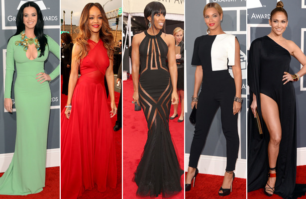 Fashion Flashback! Grammy Awards 2013