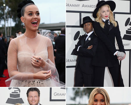 Pics! The 2014 Grammy Awards Red Carpet