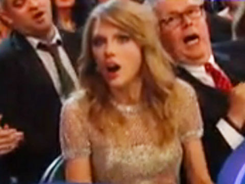 Video! Did Taylor Swift Think She Won Album of the Year at the Grammys?