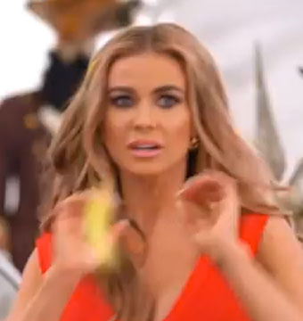 Video! Carmen Electra's VW Super Bowl Commercial Goes Horribly Wrong