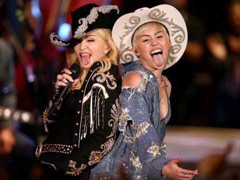 Miley Cyrus and Madonna Already Have Tongues Wagging over 'MTV Unplugged'