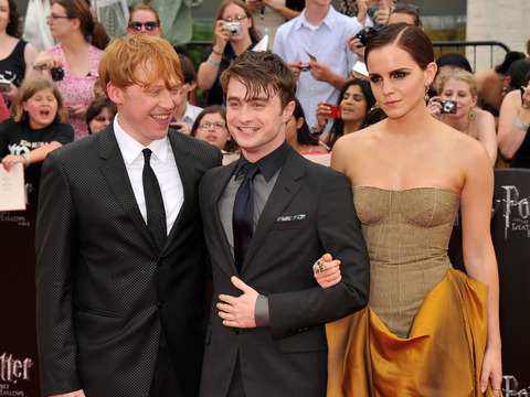 J.K. Rowling Admits Harry Potter Was a 'Better Match' for Hermione Than Ron