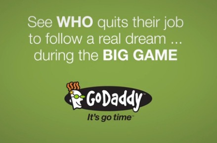 Super Bowl 48: GoDaddy Customer Quits Job in Front of Millions of Viewers