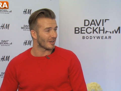 David Beckham Hints About His Future in Soccer