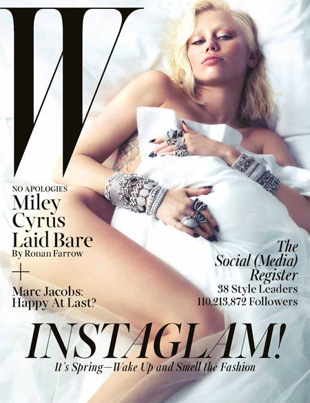 Miley Cyrus Strips Naked, Says 'Guys Watch Too Much Porn'