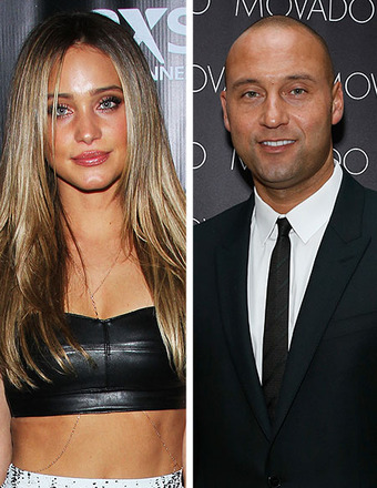 Sports Couples News: Hannah Davis and Derek Jeter Split; Jessica Szohr and Aaron Rodgers Reunite