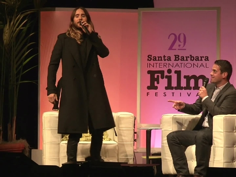 Jared Leto Responds to Heckler Upset with His Role as a Transgender Woman
