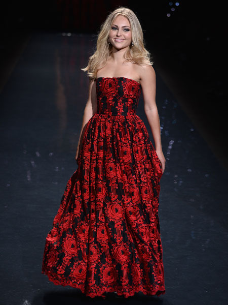 New York Fashion Week: Red Hot Looks at the Heart Truth Show