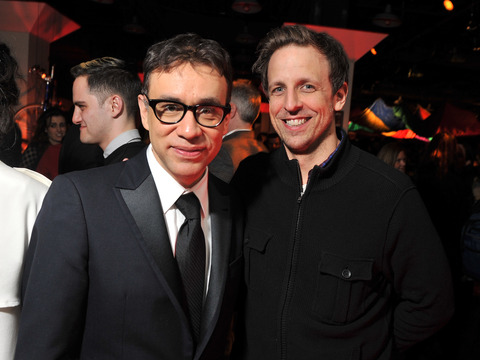 Extra Scoop: Seth Meyers Tags Fred Armisen As Bandleader