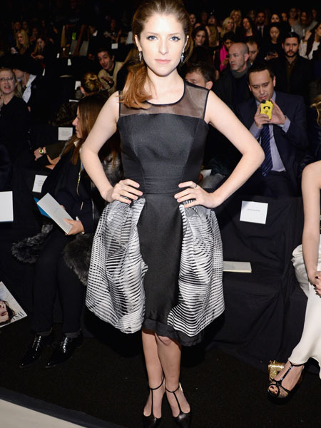 Pics! Stars at New York Fashion Week 2014