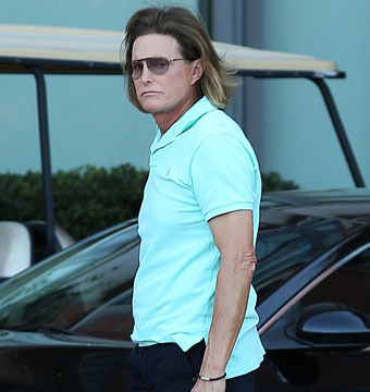 Bruce Jenner: Shaved Adam's Apple and Ombre Bouffant?