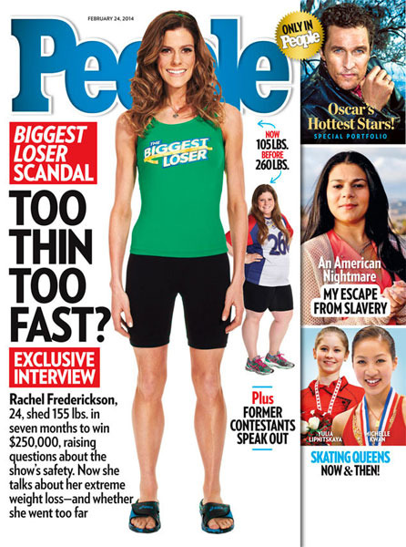 'Biggest Loser' Winner Rachel Frederickson on ...