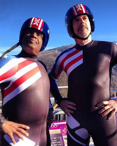 Video! Matt Lauer and Al Roker: Luge or Die