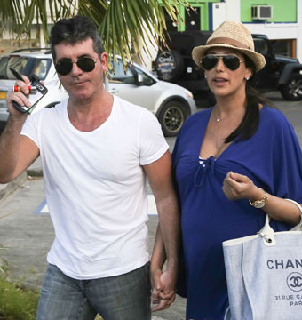 Simon Cowell Rushes to NYC After GF Goes Into Labor!
