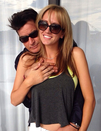Charlie Sheen's Fiancée Hasn't Officially Divorced Her Husband