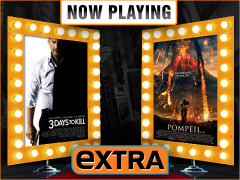 Now Playing Live Movie Reviews: '3 Days to Kill' vs. 'Pompeii'